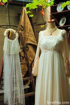 dress / ウェディングドレス / ヘッドドレス / ティアラ / ベール / グローブ / ブローチ/ ウェディング / 結婚式 / wedding / オリジナルウェディング / プティラブーシュカ / トキメクウェディング