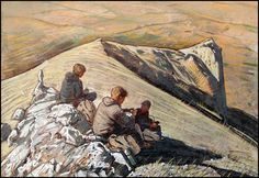 TAKING A REST AT THE TOP OF PAHKAL-KAYA by Badusev on DeviantArt