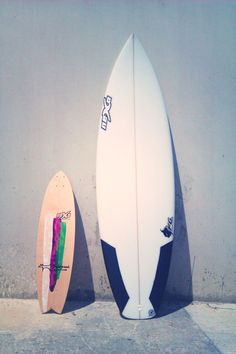 perfect everyday quiver...    longskate y tabla de surf de Nexo Surfboards  longskate and shortboard by Nexo