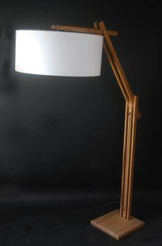 Liseuse Kapla de fabrication artisanale conçue et éditée par le Studio Open design. www.open-design61.eu