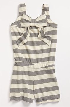 Anthem of the Ants Bow Romper (Little Girls & Big Girls) | Nordstrom