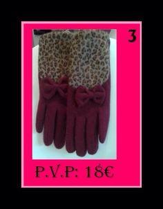 Este #invierno os presentamos estos fantásticos #guantes #gloves con #printanimal