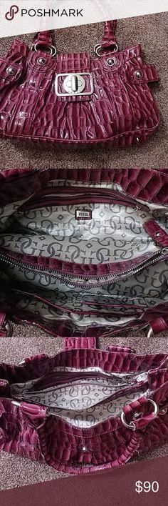 Guess cheetah bag Pink cheetah Guess large bag Guess Bags Shoulder Bags