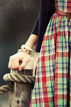 Tartan is such a great look for Fall...skirts,  jackets & now purses.