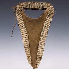 Woman's Cache-Sexe Turkana people Kenya  First half 20th century Ostrich shells, leather