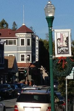 Downtown Larkspur, CA at Christmas time 2013 - #MarinCounty