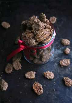 """Holiday Spice Nuts (recipe) - """"A sweet and salty nut with the flavors of baking spices. Kind of gingerbready but with a definite kick in the rear from the cayenne."""""""