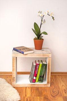 Nachtschränke - Nachttisch, Bauholz - ein Designerstück von KiddyWood bei DaWanda (Cool Rooms Products)