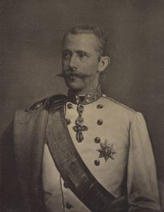 Crown Prince Rudolf of Austria (1858-1889) He was the only son of Emperor Franz Joseph I and Empress Elisabeth. He married Princess Stephanie of Belgium in 1881. The couple had one daughter, Archduchess Elisabeth, born in 1883.