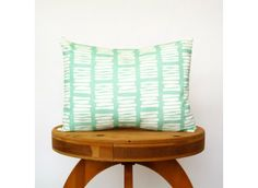 Jade Mint Boardwalk Pillow
