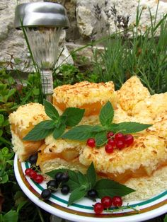 Placek ananasowo - kokosowy | Pineapple & coconut cake