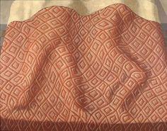 Domenico Gnoli, Due Dormienti. 1966. Acrylic and sand on canvas, 50 x 39-1/3 inches