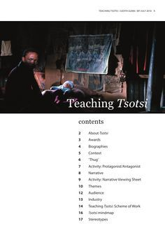 Teaching Tsotsi: Notes