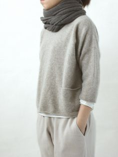 100% Yummy! One of our favorite sweaters in the store. #cashmere #sweater