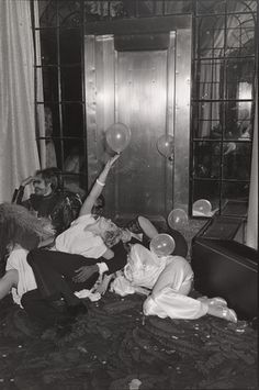 Studio 54 in its heyday.as photographed by Tod Papageorge , from his book Studio 54