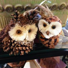 Woodland owl ornament www.doorcountyinteriors.com