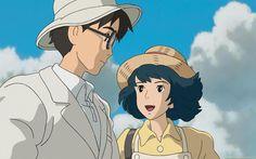The Wind Rises (Movie) Studio Ghibli Studio Ghibli Art, Studio Ghibli Movies, Studio Ghibli Quotes, Hayao Miyazaki, Anime Figures, Anime Characters, Le Vent Se Leve, Wind Rises, Arte Disney