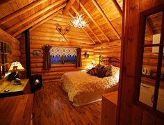 inside the cute cabin