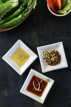 Three Ultimate Korean BBQ Dipping Sauces | MyKoreanKitchen.com