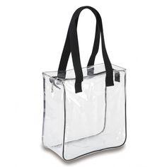 Clear 12 x 12 x 6 Tote Bag No Logo - Clear Handbags & More - Clear Handbags & Clear Handbags, Clear Tote Bags, Transparent Bag, Pioneer Gifts, Bag Packaging, Custom Bags, Zipper Bags, Evening Bags, Leather Bag