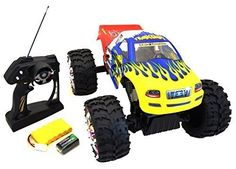 Hobby RC Crawlers - JOGOTO Remote Control Radio Control RC 4x4 4WD Offroad Large Size Rock Crawler RTR Monster Truck Vehicle * Continue to the product at the image link.