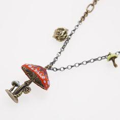 Alice in Wonderland necklace!