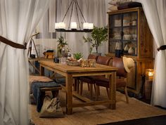 Tanzania Dining Table #diningroom #dining #diningtable #diningroomdecor #diningchair #diningtablecentrepieceideas #lodge #Scandinavian #nordic #seaside #coastal