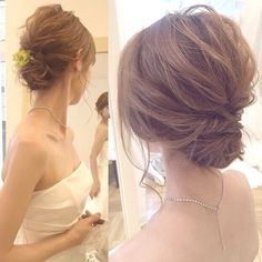 "146 Likes, 3 Comments - アトリエ・ド・マリアージュ ヘアメイク スタイリスト (@atelier_de_mariage_stylist) on Instagram: ""hair&make @ yuki. igari @yuki_igari…"""