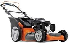 For some reason, I really enjoy mowing the lawn. Most people don't, but I think it's relaxing. This lawn mower looks really nice, and I love the orange and black colors.