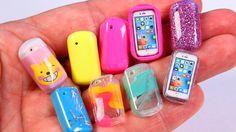 diy miniature iphone and mini phone cases