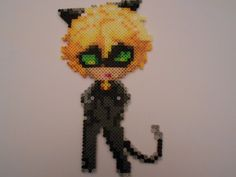 Ariel from Disney's The Little Mermaid Perler Bead Perler Bead Templates, Diy Perler Beads, Pearler Bead Patterns, Perler Bead Art, Perler Patterns, Pearler Beads, Miraculous Cat Noir, Miraculous Ladybug, Lady Bug