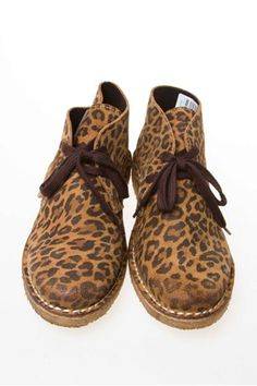 new arrival 4e80b af436 Leopard print Desert boots. Got it!