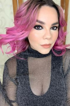 Powerful in pink 😎💕 @nicolemerito in Virgin Pink 💫 #AFvirginpink Hair Color Pink, Pink Hair, Semi Permanent Hair Dye, Arctic Fox Hair Color, How To Lighten Hair, Bright Hair, Light Brown Hair, Free Hair, Pink Aesthetic