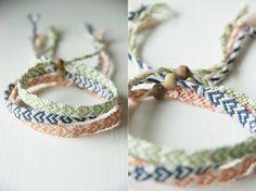 Geknüpfte Armbänder liegen wieder voll im Trend, warum kaufen, wenn man sie selbst machen kann!? Infos zum Herz Armband knüpfen findet ihr hier.