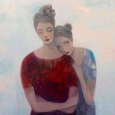 """Kristin Vestgard, """"With and Without"""",  oil 80 x 80cm, £3500. Has now SOLD"""