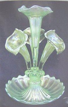 Ice Green Epergne