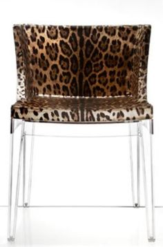 HOLY MOLY....Leopard and lucite= IN LOVE!!