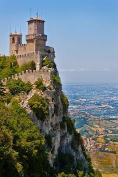 I took this exact same picture...breath taking. Pictures do no justice....Guaita Fortress - Republic of San Marino, Italy | Express Photos