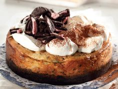 Baked Oreo cheescake • We have SM de Lange from Bloem to thank for this gem of a recipe!