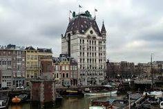 Afbeeldingsresultaat voor Rotterdam vroeger en nu met het witte huis