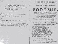 t Foan - Helsche Boosheit of Grouwelyke Zonde van Sodomie - Rudolf de Mepsche