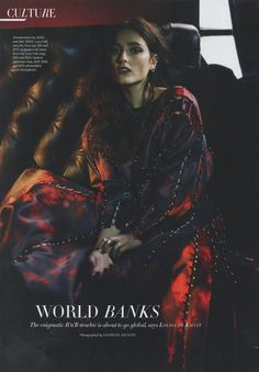 Editorial: Zimmermann Racer Azalea Dress from Harpers Bazaar Australia, September issue.
