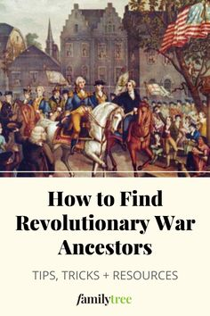 Genealogy Websites, Genealogy Research, Family Genealogy, Military Records, Military Art, American Revolutionary War, Revolutionaries, Ancestry, Family History