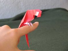 Origami animals, great inspiration for my geometric flower pots!