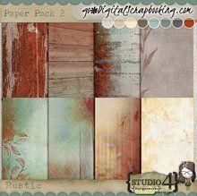 Rustic - Paper Pack 2