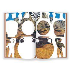 Matthew Craven creates a new handmade universe in his book, Primer Web Design, Book Design, Cover Design, Print Design, Design Layouts, Brochure Design, Design Trends, Collage Illustration, Graphic Illustration