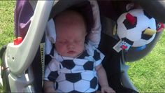 Dreaming of Soccer in a Bambino Balls outfit...
