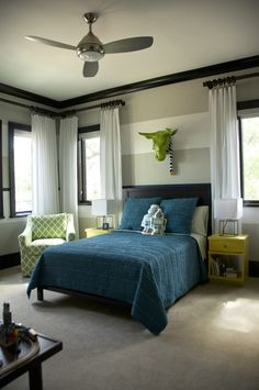 RoomReveal - Boy's Bedroom by Melissa Davis-Seltmann