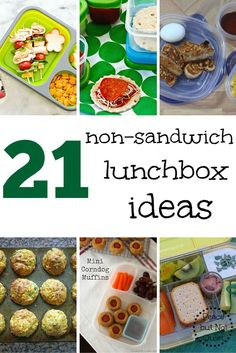 non-sandwich lunches