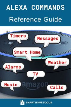 The best Alexa commands to use in your smart home. Read my list of Alexa commands easily organized to find what you need. How many of these do you use? Alexa Dot, Alexa Echo, Best Alexa Commands, Amazon Echo Commands, Alexa Music, Amazon Alexa Skills, Home Focus, Computer Basics, Computer Tips